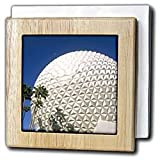 Florida, Orlando. Epcot Center at Walt Disney World - US10 BBA0073 - Bill Bachmann - 6 Inch Tile Napkin Holder