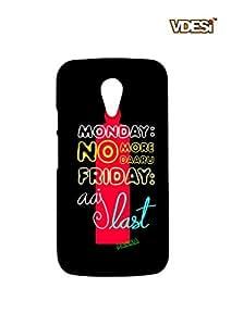 VDESI Designer Matte Back Cover For Motorola Moto G2 (2nd Gen) -11540046