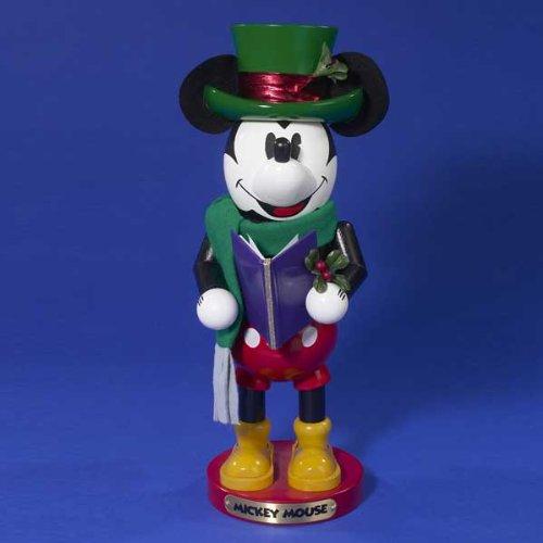 Mickey Mouse Christmas Caroling - ES1935 Signed Steinbach Nutcracker