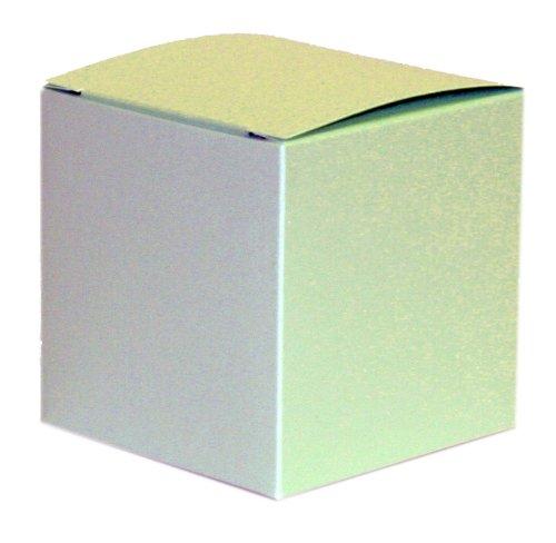 Pistazie Perlmuttartige Geschenkbox/Kiste, 75 x 75 x 75 mm (7.62 cm)