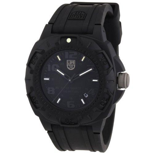 Luminox Land Sentry 0200 Men's Black Rubber Strap Watch A.0201.BO
