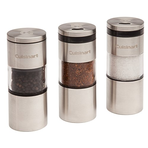 Cuisinart CSS-33 Magnetic Grilling Spice Set, Silver (Cuisinart Bbq Tools compare prices)
