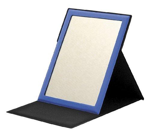 折りたたみ式コンパクトミラー Lサイズ スカイ