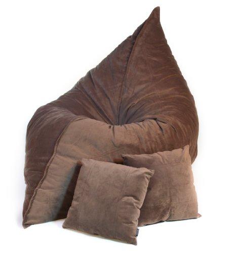 Lovesac Sofa For Sale: Coffee Velvish Pillowsac Package
