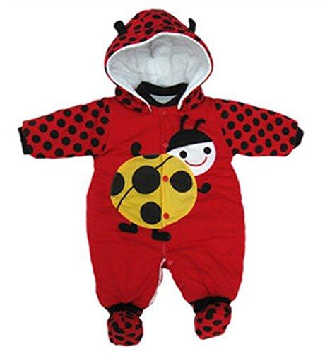 Ladybug Baby Shoes front-649745