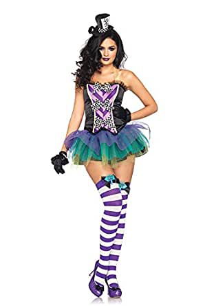 Leg Avenue Womens Tempting Mad Hatter Adult Woman