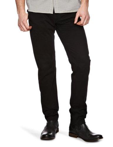 GAS Noal Slim Men's Trousers Black W34INxL34IN