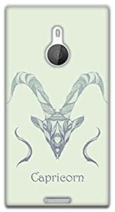 The Racoon Grip Capricorn hard plastic printed back case / cover for Nokia Lumia 1520