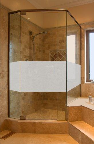 Aufkleber Glasdekor Sichtschutz GD29 ca. 50cm x 80cm Bad Badezimmer Dusche Duschtür Sichtschutzfolie