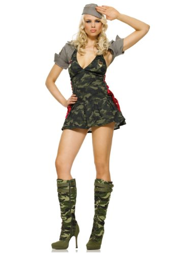 Women's Army Cadet Costume