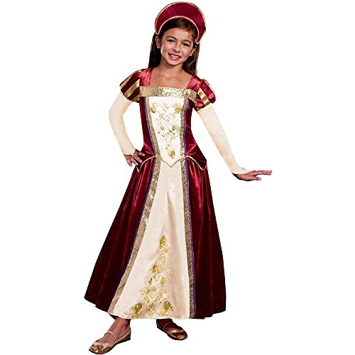 Royal Renaissance Maiden Kids Costume
