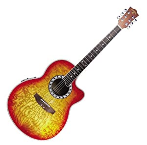 shannondale thin body acoustic electric guitar musical instruments. Black Bedroom Furniture Sets. Home Design Ideas