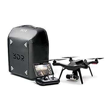 3DR Solo Quadcopter Bundle with Gimbal, Backpack, Battery, and 8 Propellers