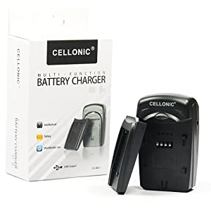 Chargeur BC-TRV pour Sony NP-FV30 / NP-FV50 / NP-FV70 / NP-FV100 (Sony DCR-SR58 / DCR-SR68 / DCR-SR78 / DCR-SR88 / DCR-SR73 / DCR-SR83 / DCR-SX33 / DCR-SX34 / DCR-SX43 / DCR-SX44)