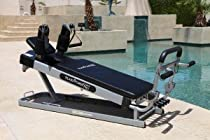 Pilates Power Gym Pro Cardio Package (Incl. Power Flex Cardio Rebounder & 4 Pilates Workout DVDs)