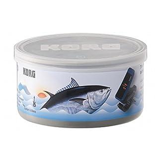 KORG (コルグ) Canned Tuner PC-1-CAN-BL (ブルー × ブラック) 缶入りクリップチューナー