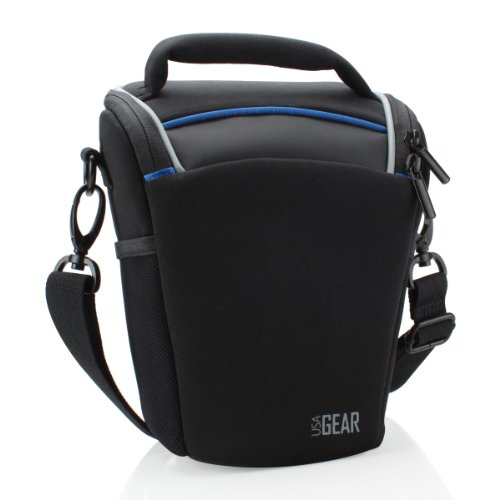usa-gear-simple-camera-travel-bag-carrying-case-with-weather-resistant-neoprene-padded-shoulder-stra