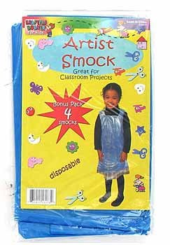 child`s artist smock 4pc - Case of 24