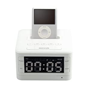 Kootec ALARM CLOCK RADIO for iPod iphone PT231