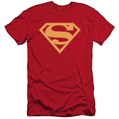 Superman: Red & Gold Shield Slim Fit T-Shirt