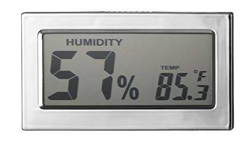 Visol Modern Rectangular Digital Hygrometer - 1