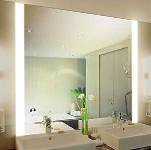badspiegel mit beleuchtung iona m313n2v design spiegel. Black Bedroom Furniture Sets. Home Design Ideas