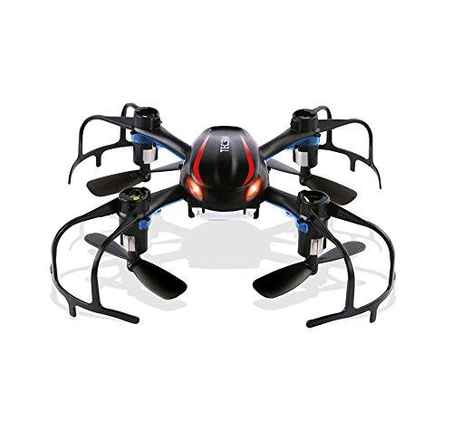 TEC.BEAN X902 Black Spider Mini RC Quadcopter Drone with 3D Flip