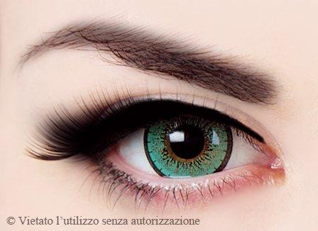 Lenti a Contatto Verdi Glamour - Durata 1 Anno - E.O.S.