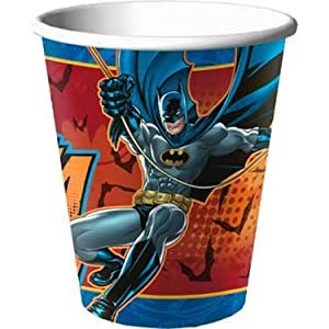 Batman Heroes and Villains 9 oz. Paper Cups (8) Party Accessory at Gotham City Store