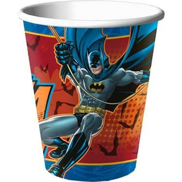 Batman 'Heroes and Villains' Paper Cups (8ct)
