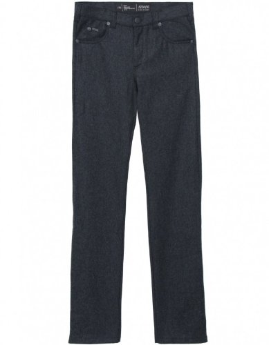 Armani Collezioni Men's Pants Grey Flannel Trousers 36R