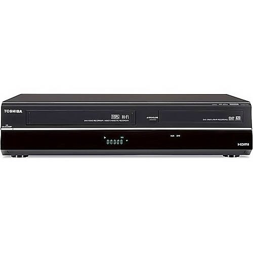 The New Toshiba DVR620 DVD/VHS Recorder (Black)
