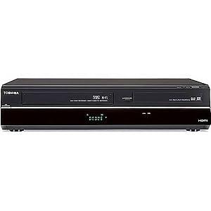 Toshiba DVR620 DVD/VHS Recorder, Black
