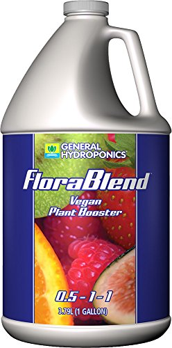 General Hydroponics Flora Blend for Gardening, 1-Gallon