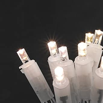 konstsmide 5300 103 led lichterkette 10 wei e dioden 230v f r innen transparentes kabel. Black Bedroom Furniture Sets. Home Design Ideas