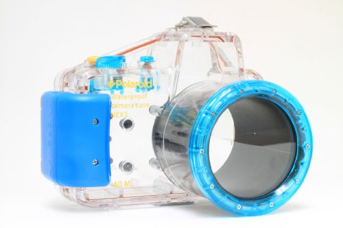 Polaroid Dive Rated Waterproof Underwater Housing Case For Sony Alpha NEX-C3 Digital Camera WITH A 18-55mm Lens... Black Friday & Cyber Monday 2014