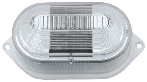 Paradise Gl23901Wh2 Plastic Multi-Purpose Solar-Powered Led Light, 2-Pack, White