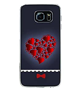 Hearts in Heart 2D Hard Polycarbonate Designer Back Case Cover for Samsung Galaxy S6 Edge+ :: Samsung Galaxy S6 Edge Plus :: Samsung Galaxy S6 Edge+ G928G :: Samsung Galaxy S6 Edge+ G928F G928T G928A G928I