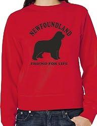 foundland Dog Lover Adult Sweatshirt Jumper Birthday Gift Idea Size S-XXL