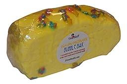 Lemon Meringue Pie Bubble Bar, Solid Bubble Bath Bar, By Diva Stuff, Great For Travel