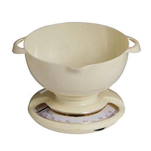Premier Housewares 0807241 Balance de Cuisine Plastique Crème 5 kg