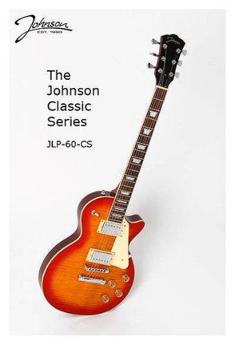 Johnson JLP-60 CS Classic E-Gitarre faded cherry sunburst
