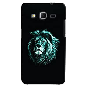 ColourCrust Samsung Galaxy Core Prime G360 Mobile Phone Back Cover With Lion Animal Art - Durable Matte Finish Hard Plastic Slim Case