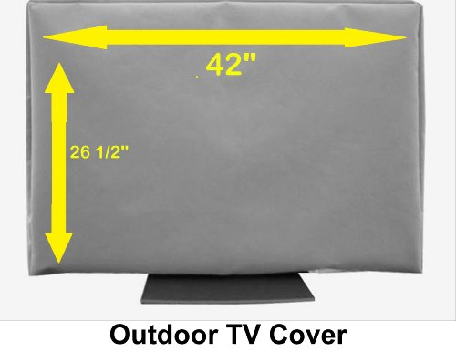 "Why Choose 42"" Outdoor TV Cover (Soft Non Scratch Interior) fits 40"", 42"" & some ..."