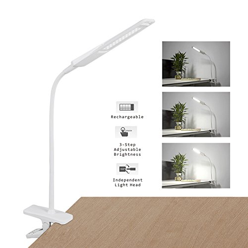 Kedsum 2 In 1 Dimmable Led Desk Lamp Detachable