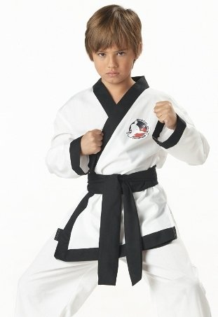 California Costume Collection Kids Boys Costumes Martial Arts Three Ninjas Kung Fu Karate Hapkido Gi Costume Theme Party Outfit
