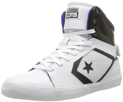 CONVERSE Unisex-Adult All Star 12 Pref Mid Trainers 363900-61-3 Blanc 8.5 UK, 42 EU