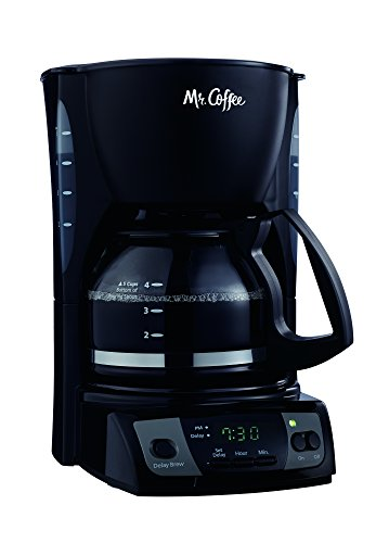 Mr. Coffee CGX7 5-Cup Programmable Coffeemaker, Black (Mr Coffee 5 Cup compare prices)
