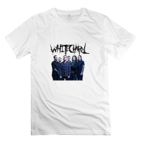 Men's Whitechapel Deathcore T Shirt White