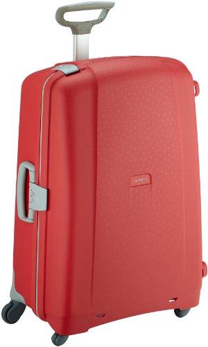 Samsonite-Borsa da viaggio per adulto 4 ruote, colore Rosso, 75 cm/28 in, 53x75x31